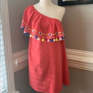 Piper by Townsen Coral Mini Dress